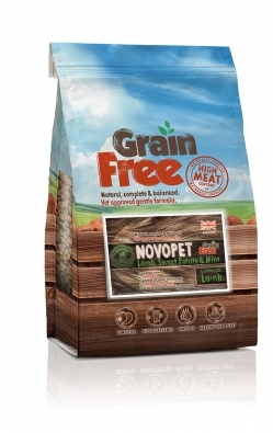 Grain Free – Lamb, Sweet Potato and Mint